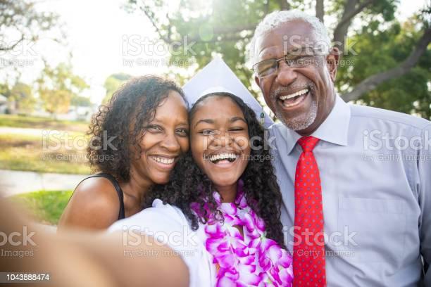 Black teenage girl and her family at graduation picture id1043888474?b=1&k=6&m=1043888474&s=612x612&h=f5tgmx0nhafmhik3nmr0czmlpjxgwczdg0lq  dkpce=