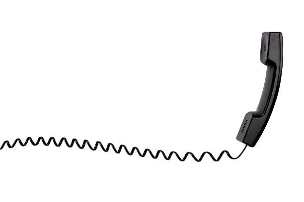 di telefono - cornetta telefono foto e immagini stock