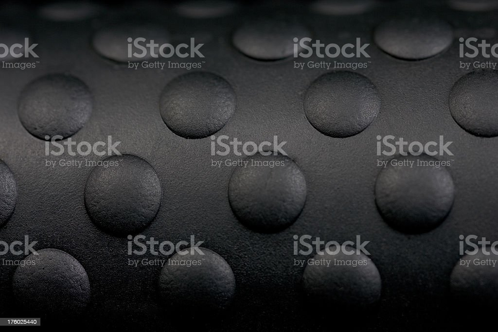 Black Textured Rubber Grip royalty-free stock photo