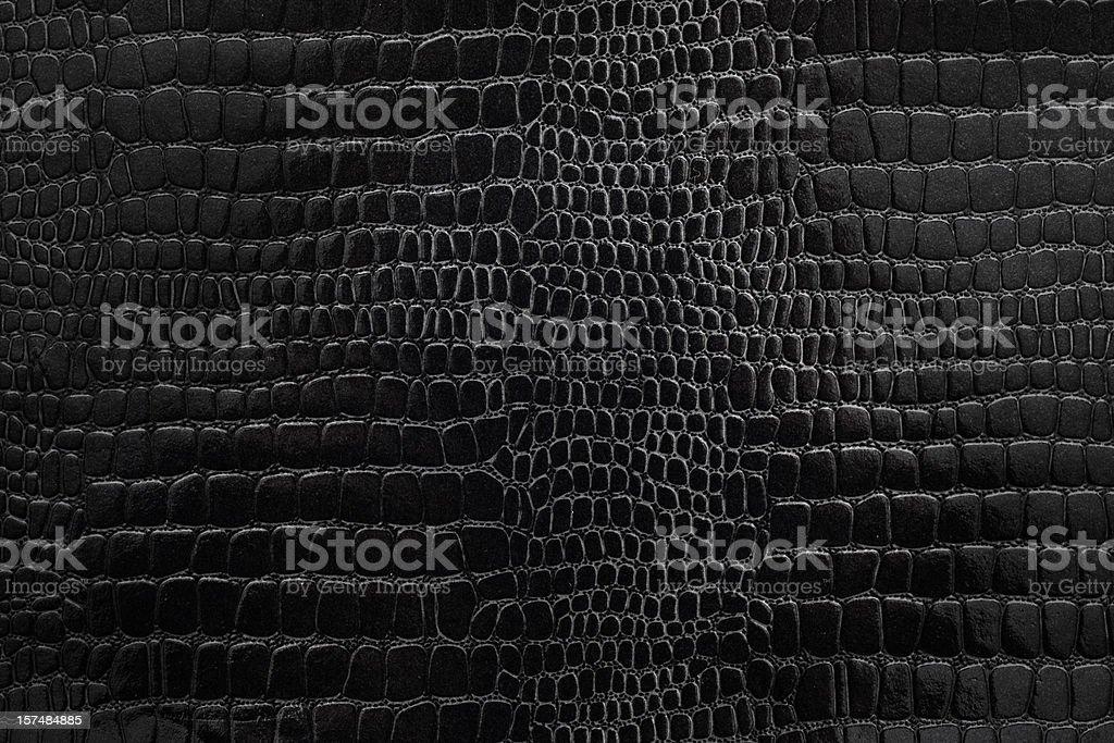Piel de serpiente de papel con textura negro - foto de stock