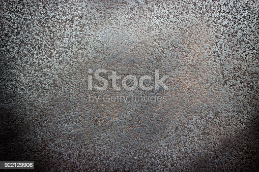 938345942 istock photo Black textured steel, worn metal surface background 922129906