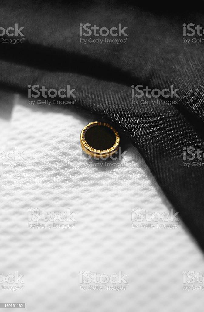 Black Tie White Shirt royalty-free stock photo