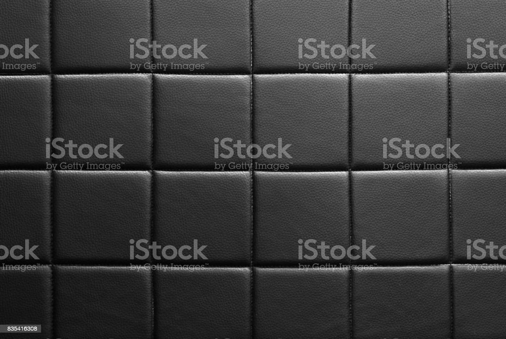 Black tile wall backgrounds stock photo