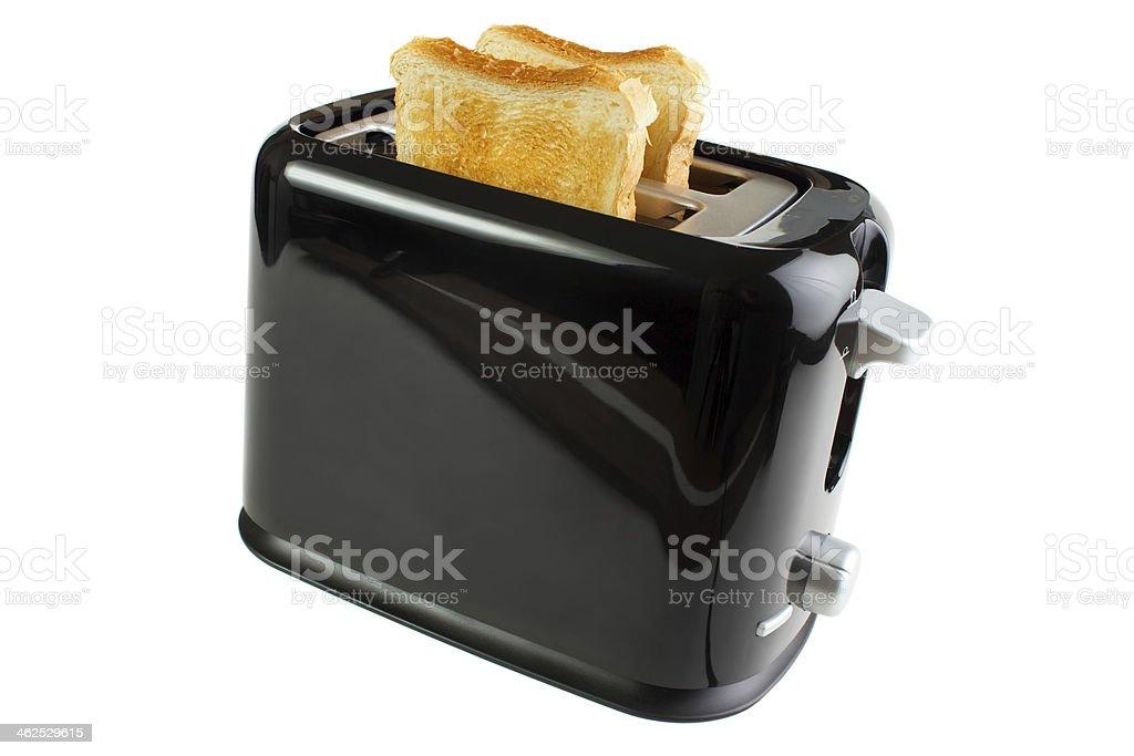 Black toaster royalty-free stock photo
