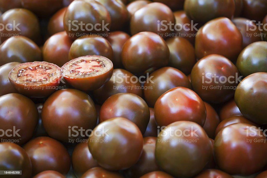 Black Tomatoes stock photo