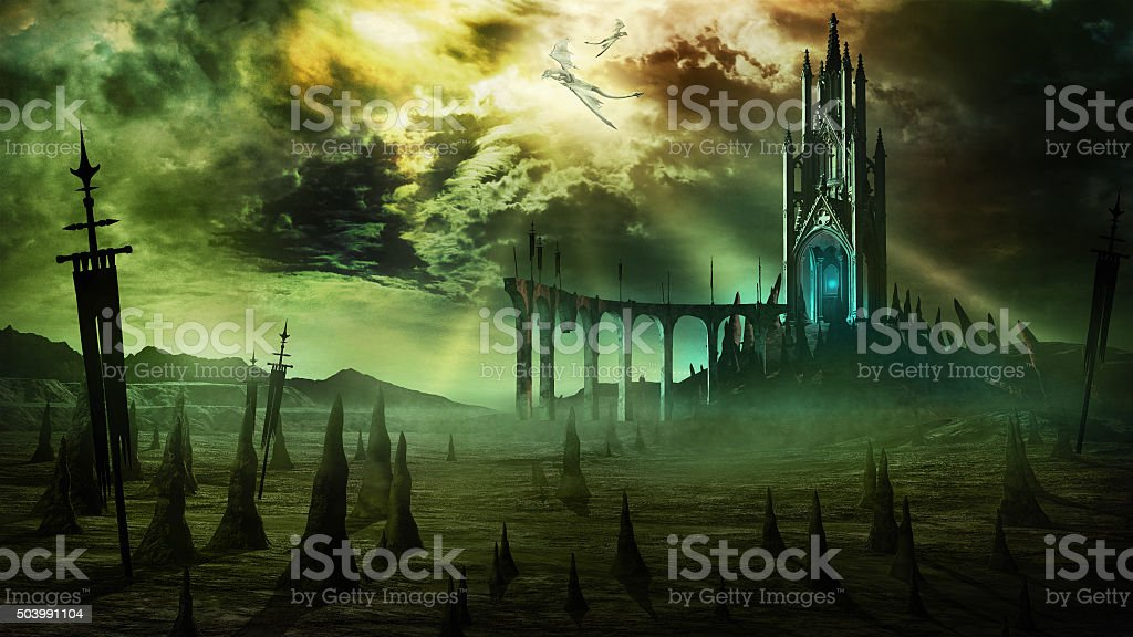 Black Tower stock photo