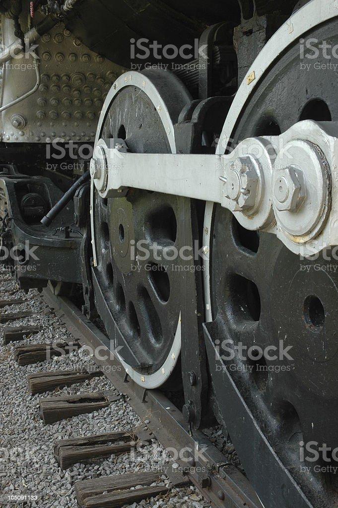 Black Train royalty-free stock photo