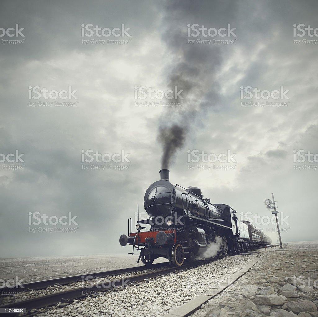 black train stock photo