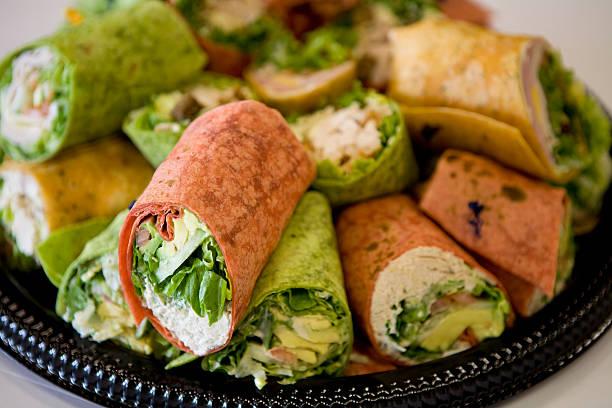 Wrap-Sandwiches – Foto