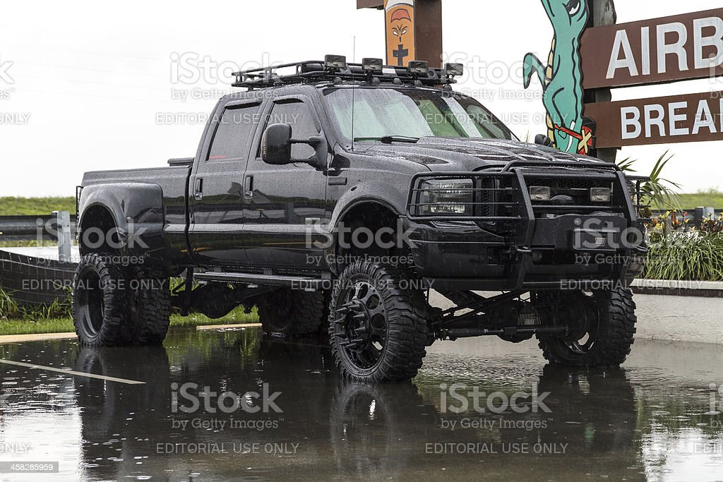 Black Truck stock photo
