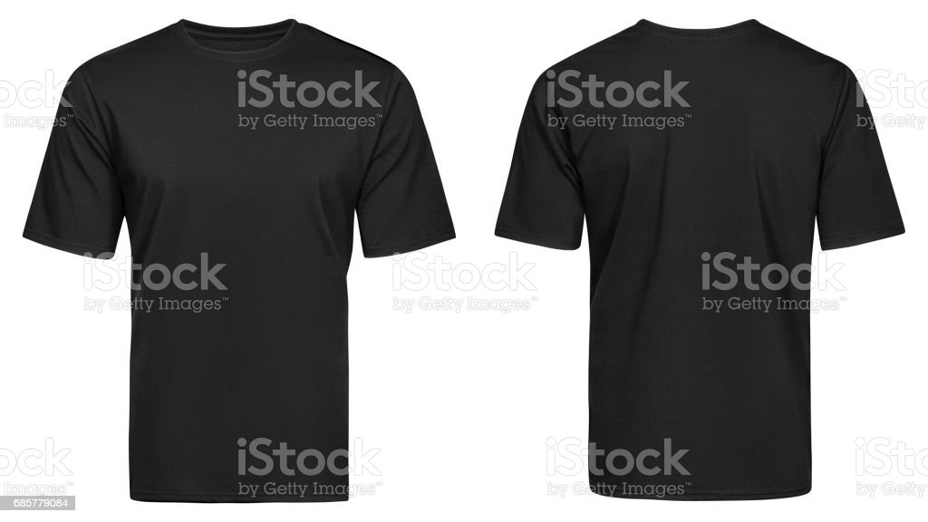 Black t-shirt, clothes royalty-free stock photo