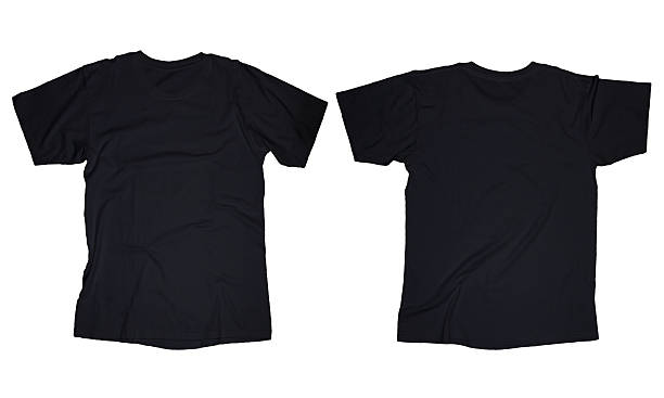 black t shirts template - photo #40