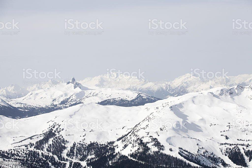 Black Tusk Mt royalty-free stock photo