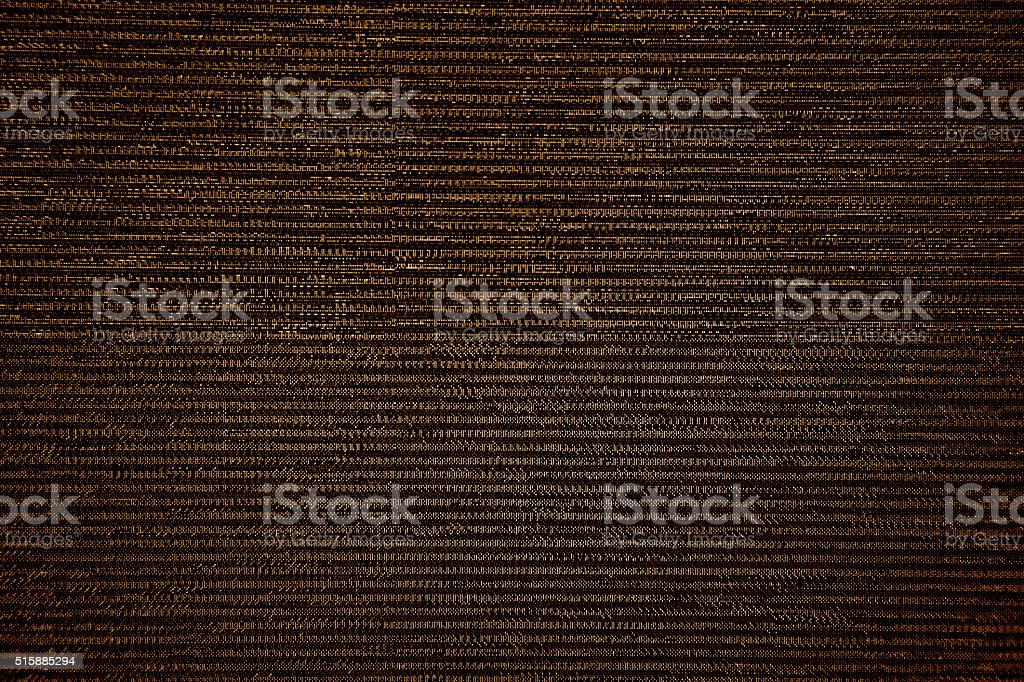 black TV LCD Television broadcast digital noise electronic signal failure stock photo