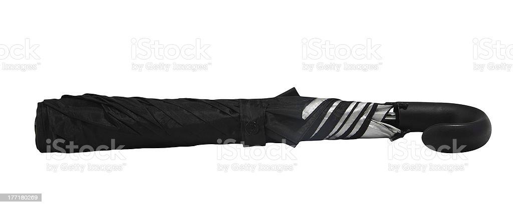 Black umbrella royalty-free stock photo