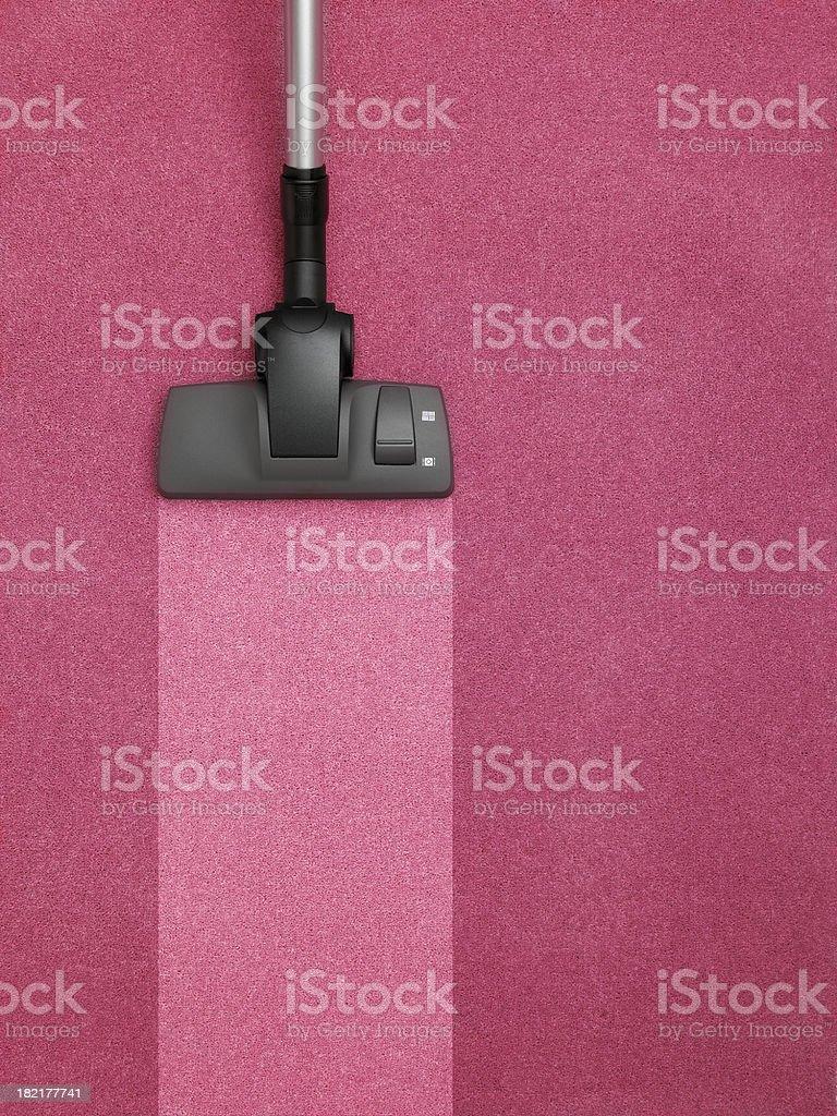 black vacuum cleaner stock photo