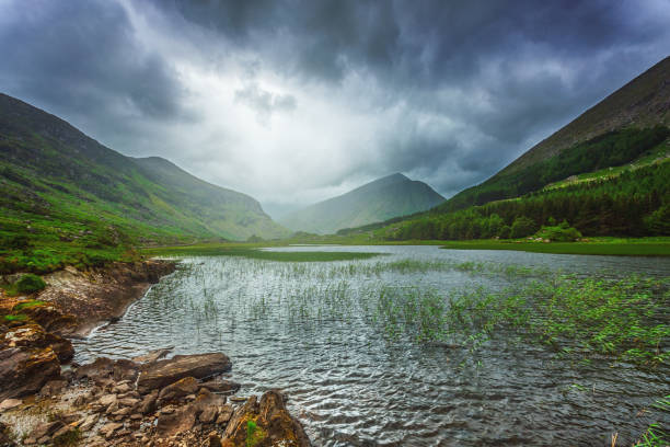Black Valley in the Killarney National Park, County Kerry, Ireland stock photo