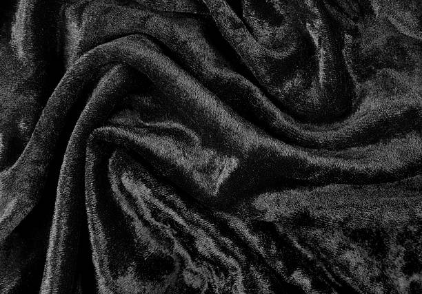 Crushed Black Velvet Background Pictures Images And Stock Photos