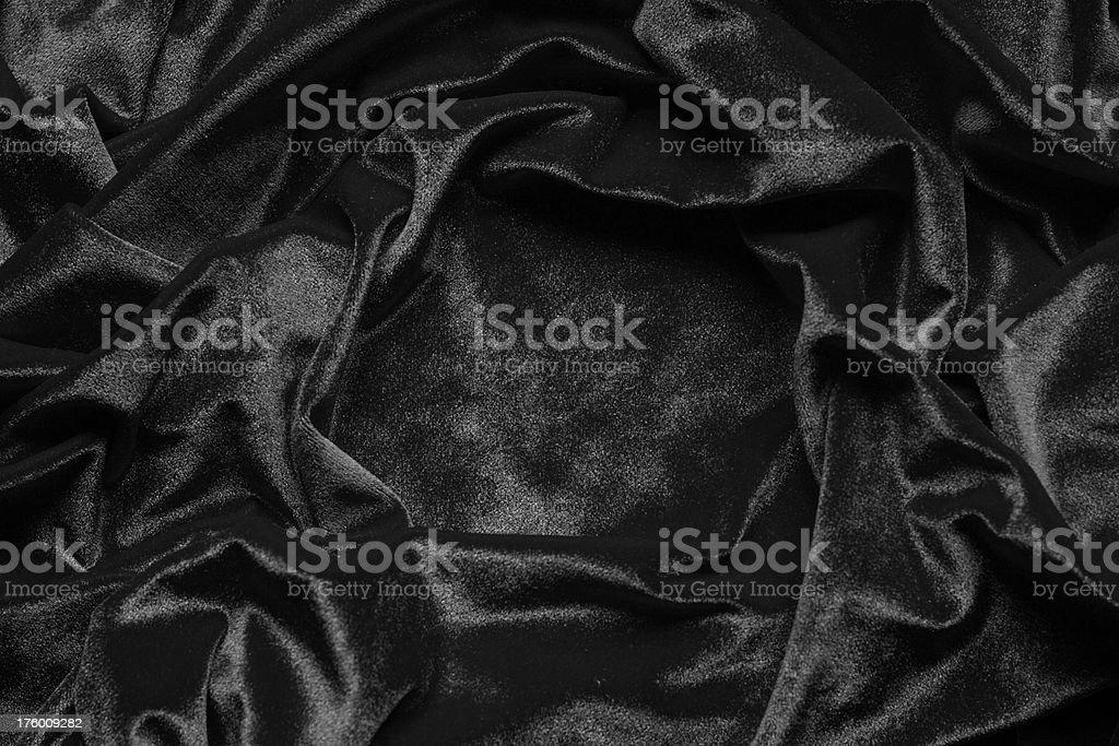 Black velvet background stock photo