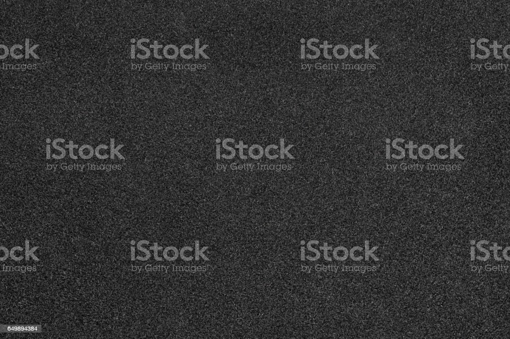 Black velvet paper close up stock photo