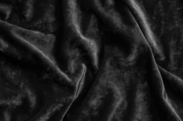 Black velvet stock photo
