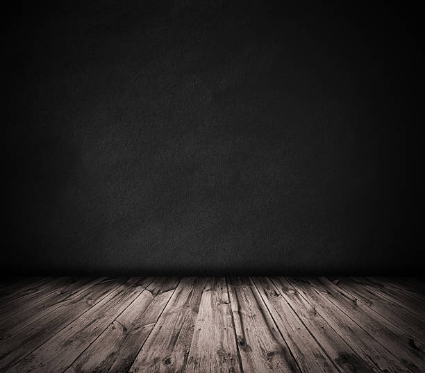 wood floors background. Black Wall And Wooden Floor Interior Background Stock Photo Royalty Free Dark Wood Floor Pictures  Images Stock Photos IStock