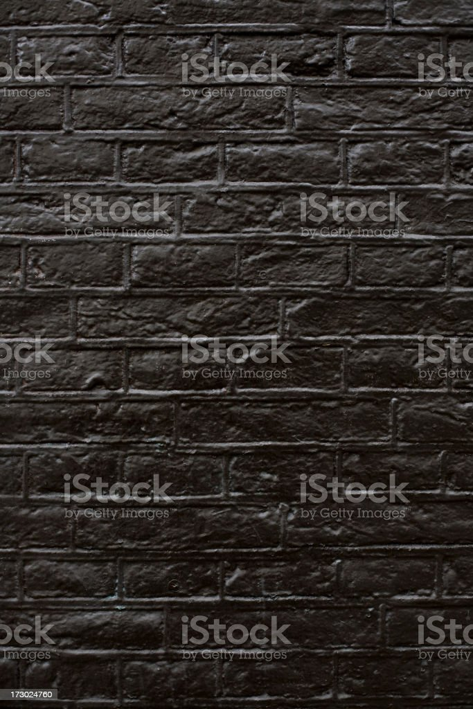 Black Wall stock photo