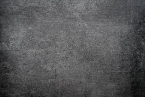 Schwarze Wand textur rauen Hintergrund, dunklen Betonboden oder alten Grunge Hintergrund – Foto