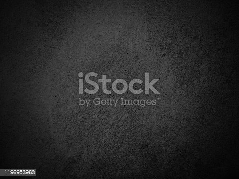 184601291istockphoto Black wall vignette texture abstract background. 1196953963