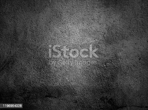 184601291istockphoto Black wall vignette texture abstract background. 1196954028
