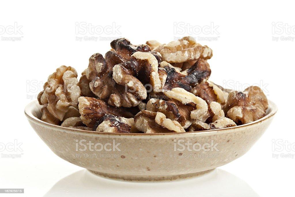 Black Walnut Pieces stock photo