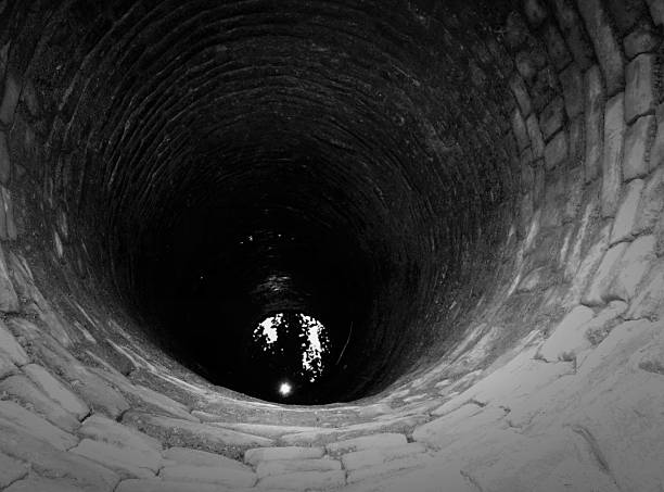 Black Water stock photo
