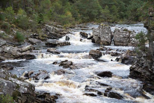 Black Water River stock photo