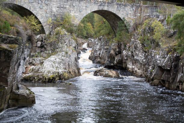 Black Water under Silverbridge stock photo