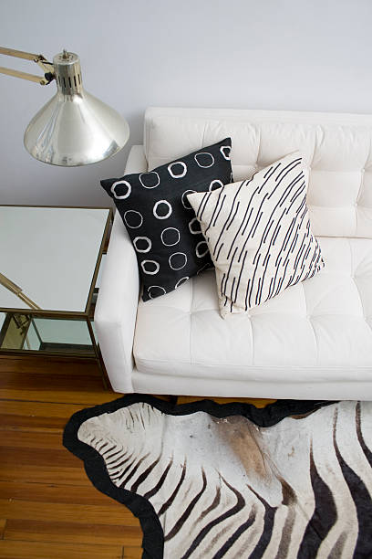& ainda vida preto branco - padrões zebra imagens e fotografias de stock