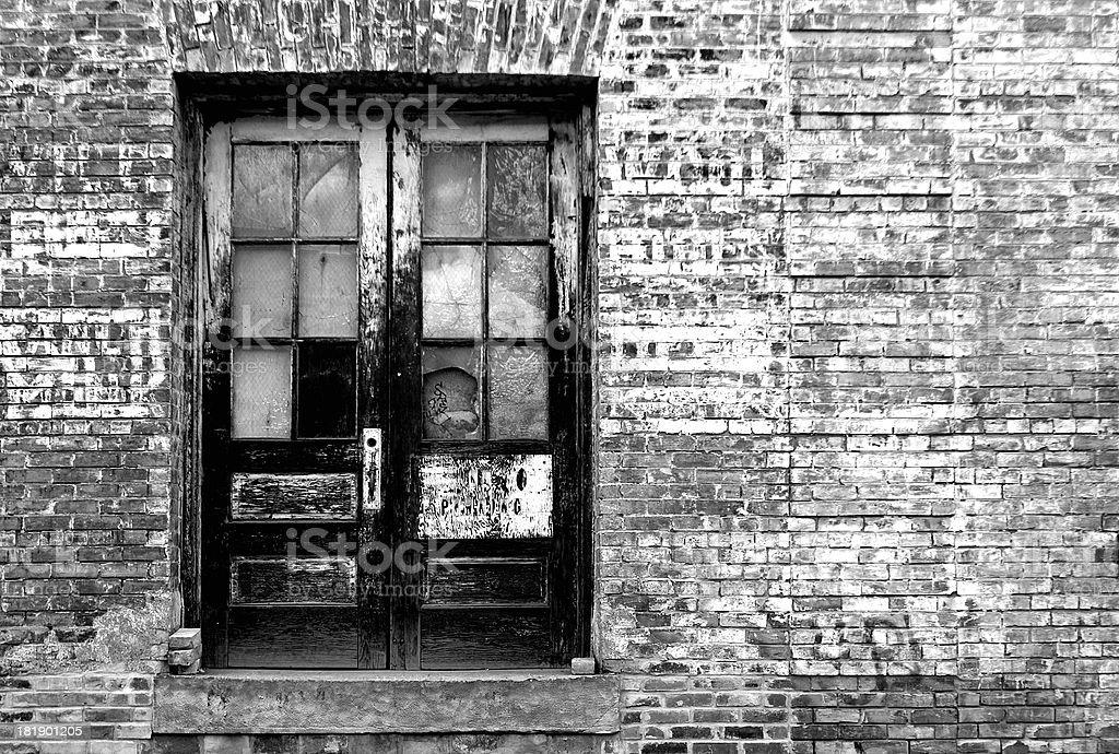Black & White Urban stock photo