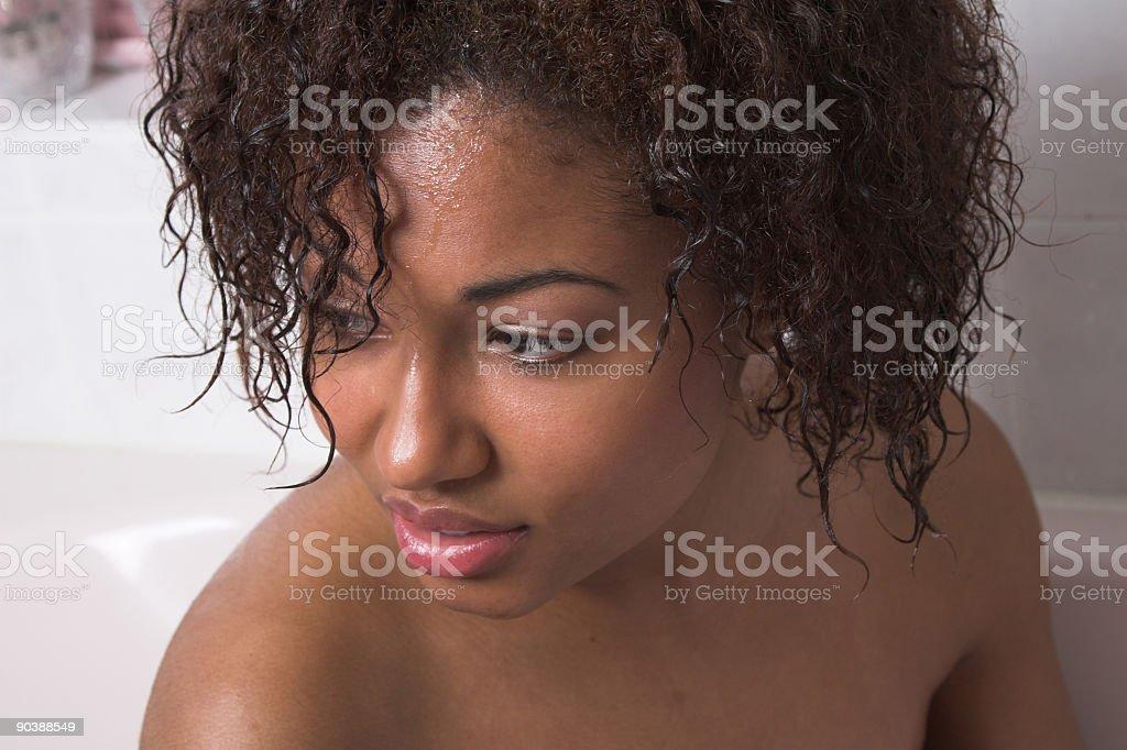 Schwarze Frau aus bath – Foto