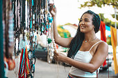 Braided Hair, Black Color, Women, Day, Crafts