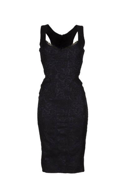 schwarze Frauen Kleid – Foto