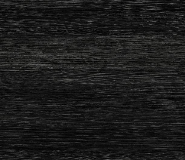 schwarzer holzstruktur. hintergrund alte platten - nussbaumholz stock-fotos und bilder