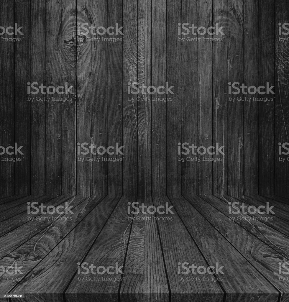 Black wood texture background stock photo