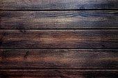 black wood texture, dark wooden abstract background.