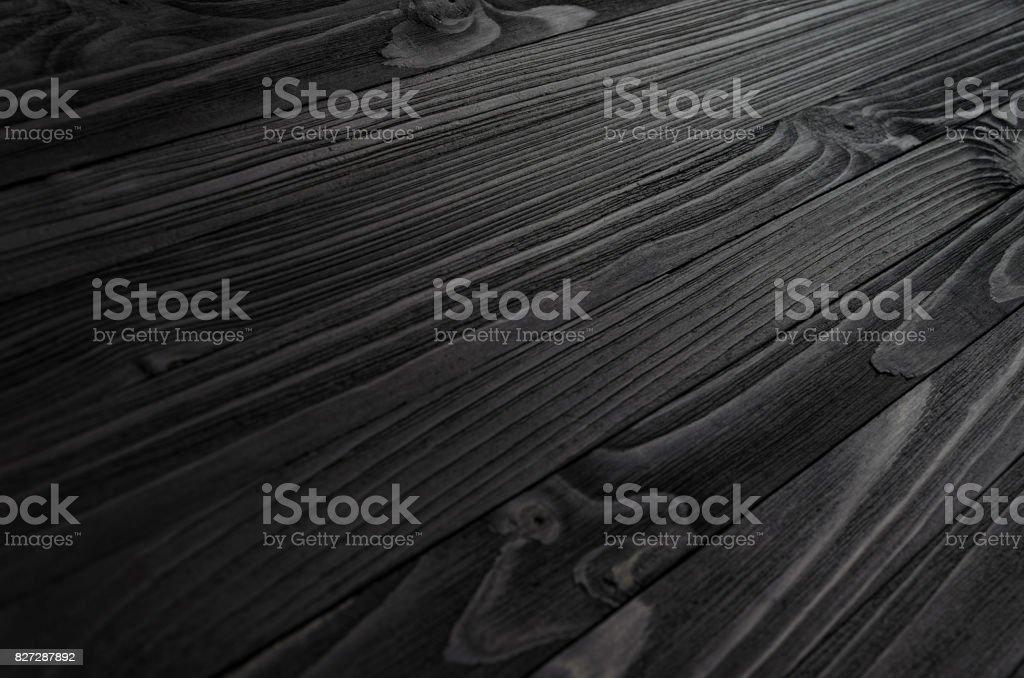 Black Wood Texture stock photo