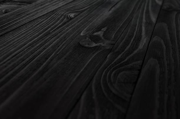 schwarz holz textur - winkel stock-fotos und bilder