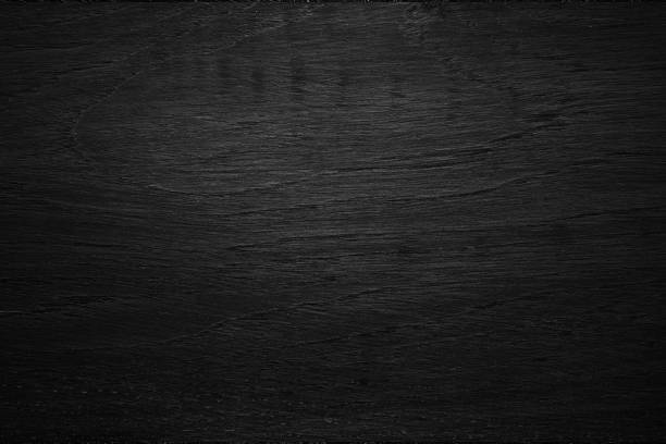 Black wooden texture background blank for design ストックフォト