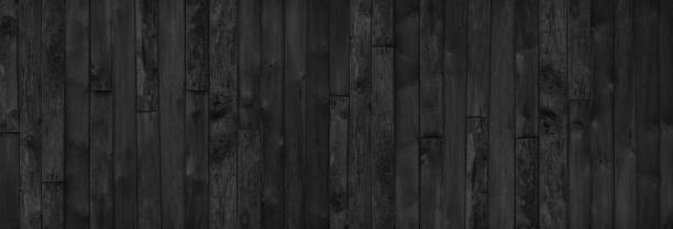 black wooden texture background blank for design - woodland stock pictures, royalty-free photos & images