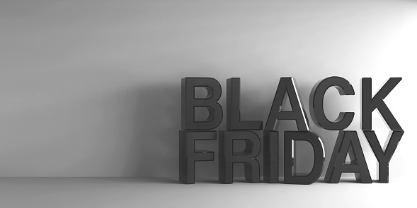 istock Black words Black Friday 877026976