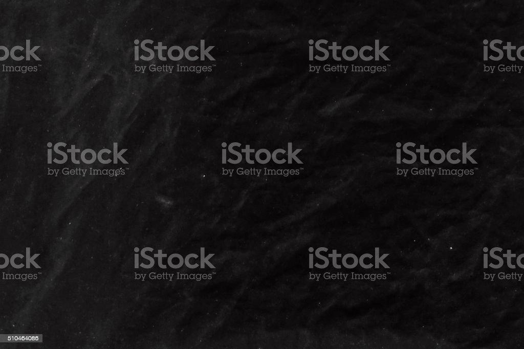 black wrinkled fabric stock photo
