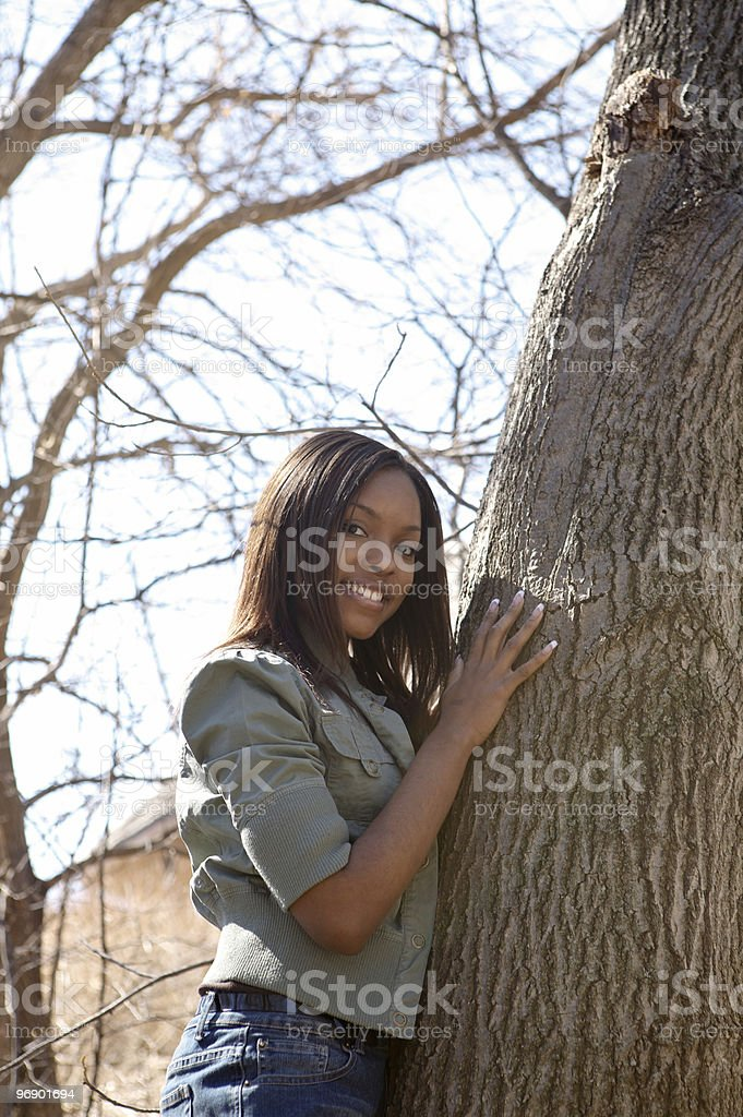 Black Young Adult royalty-free stock photo