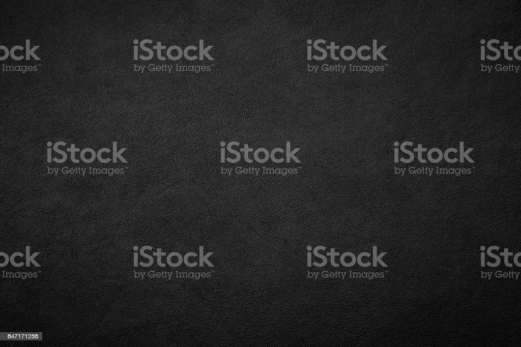 Black zipper and leather texture close up background. stock photo